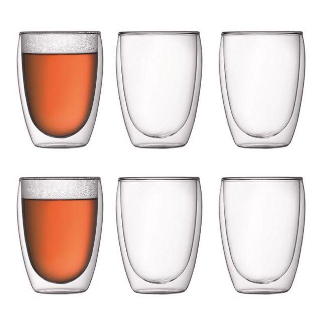 Bodum Pavina | 6 pcs glass | Medium 0.35 l, 12 oz
