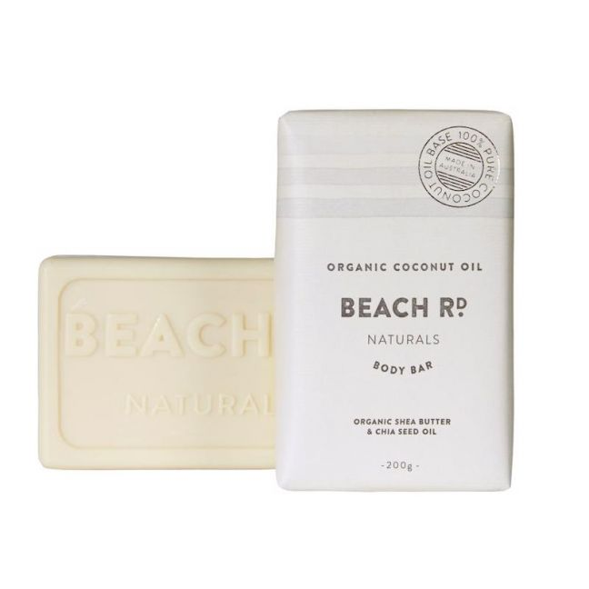 Body Bar | Organic Coconut Oil | 200g | by Beach Road Naturals