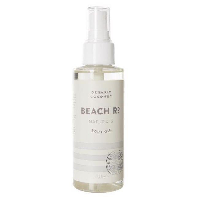 Body Oil | Organic Coconut | 125ml | by Beach Road Naturals