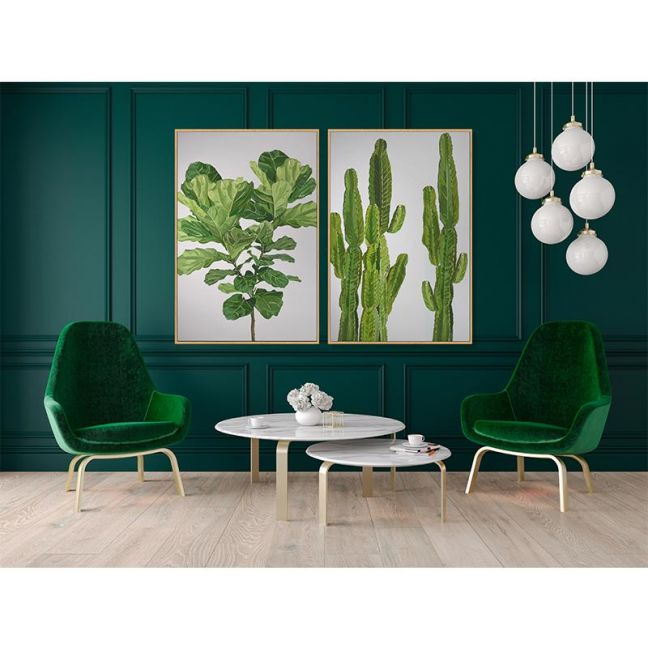 Botanical Series   Fiddle Leaf   Art Print   Various Sizes   Adele Naidoo