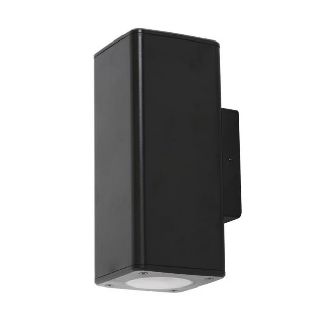 Boulder 2 Light Up/Down Wall Bracket | Square | By Beacon Lighting