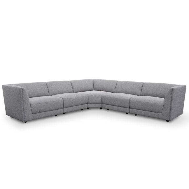 Bradford 5 Seater Corner Sofa   Oslo Grey