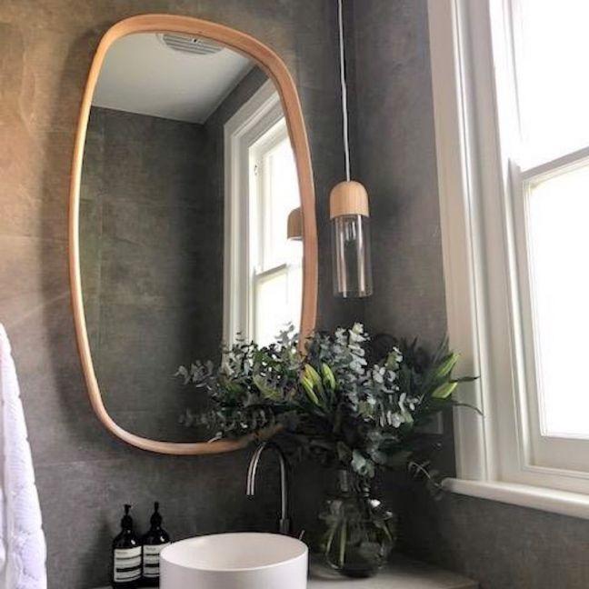 Bridgette Mirror | American Oak Timber Frame