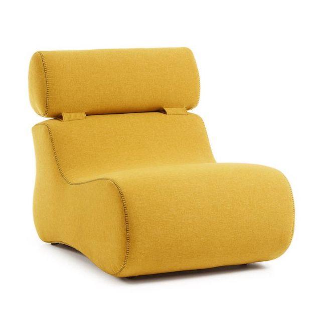 Bubble Armchair   Mustard
