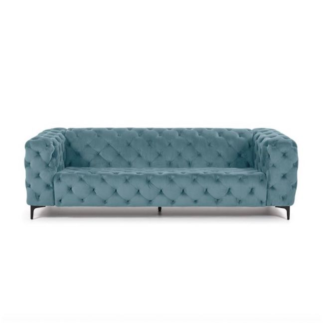 Buchanan 3 Seater Sofa | Steel Blue | CLU Living