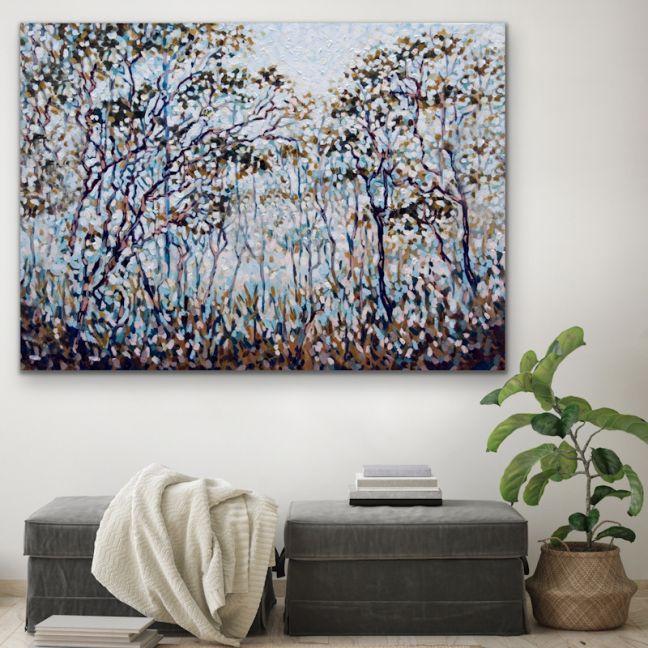 Bush Song | Australian Nature Canvas Art Print