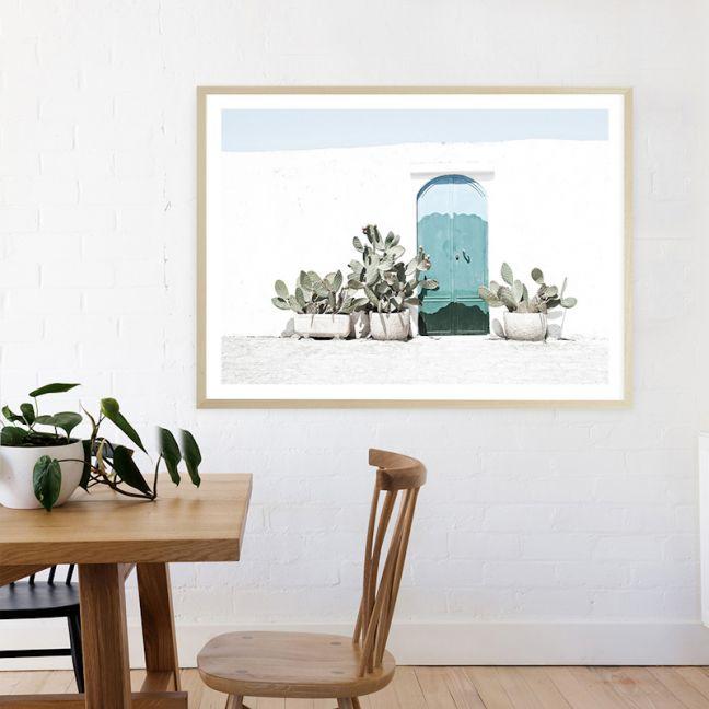 Cactus Doorway Photo Art Print (Various Sizes)