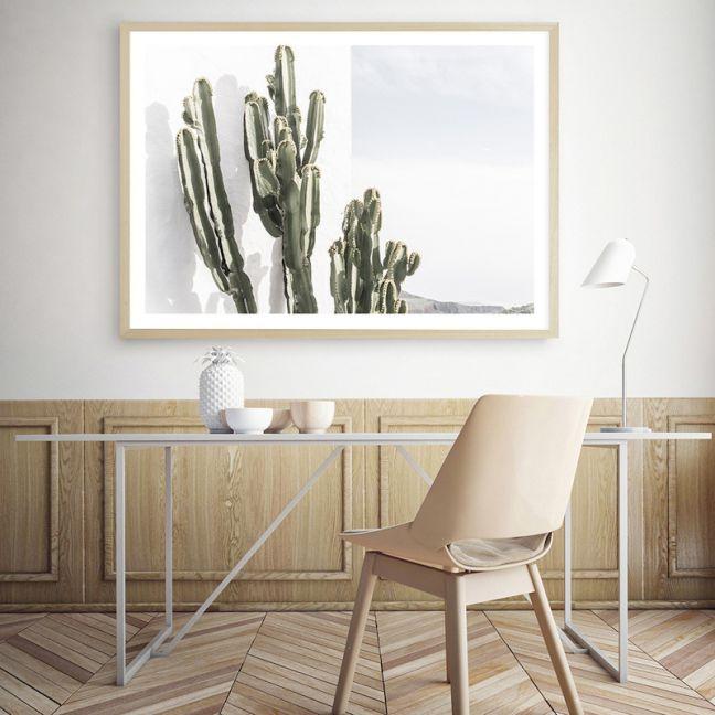 Cactus Summer Photo Art Print (Various Sizes)