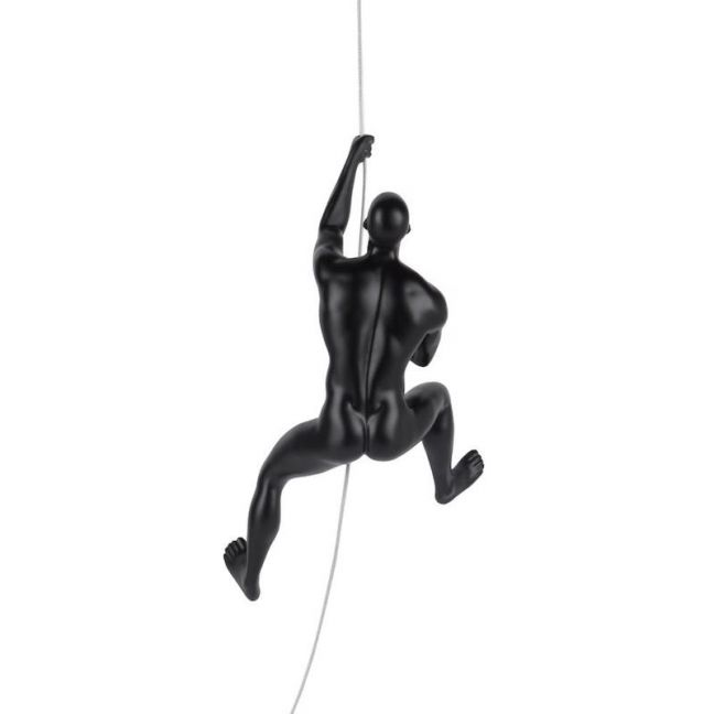 Caldwell Climbing Man Sculpture | CLU Living