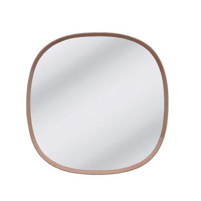 Carlsen Shaped Mirror | Natural Oak