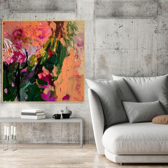 Cartel Flower Collection - Strawberry Fields | Original Artwork