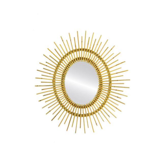 Casa Rattan Mirror by SATARA