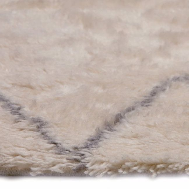Casablanca Moroccan Wool Rug | Ivory