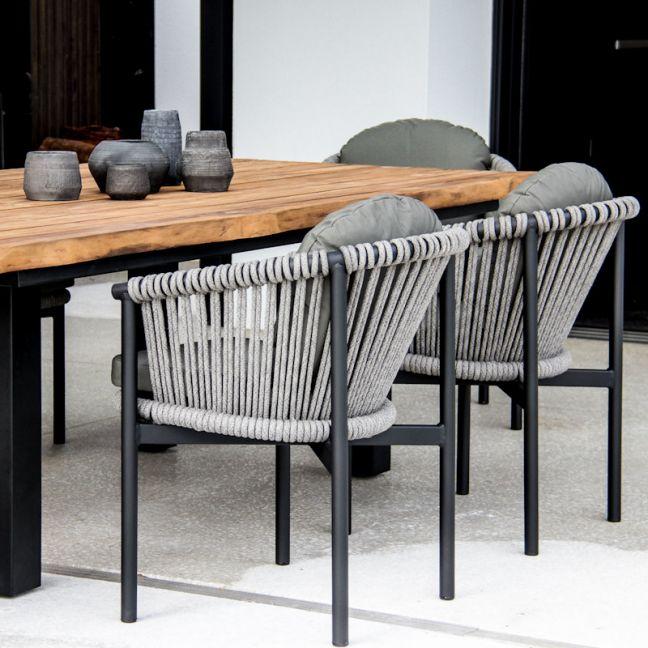 Catalan Arm Chair Black or White by SATARA
