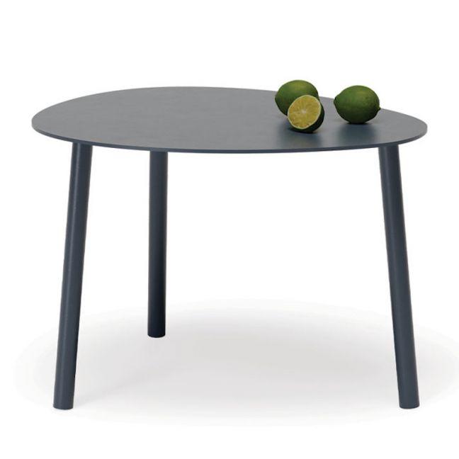 Cetara Outdoor Side Table | Matt Midnight Blue