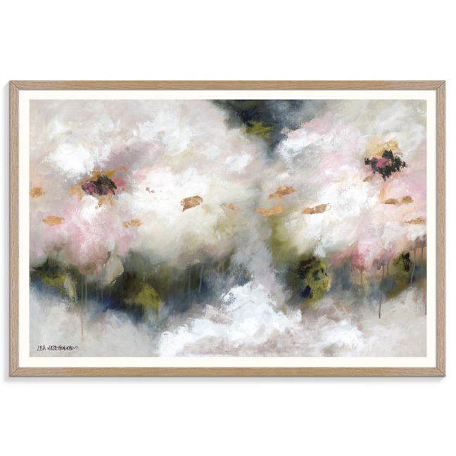 Champagne Apple Blossom | Lisa Wisse Robinson | Canvas or Print by Artist Lane