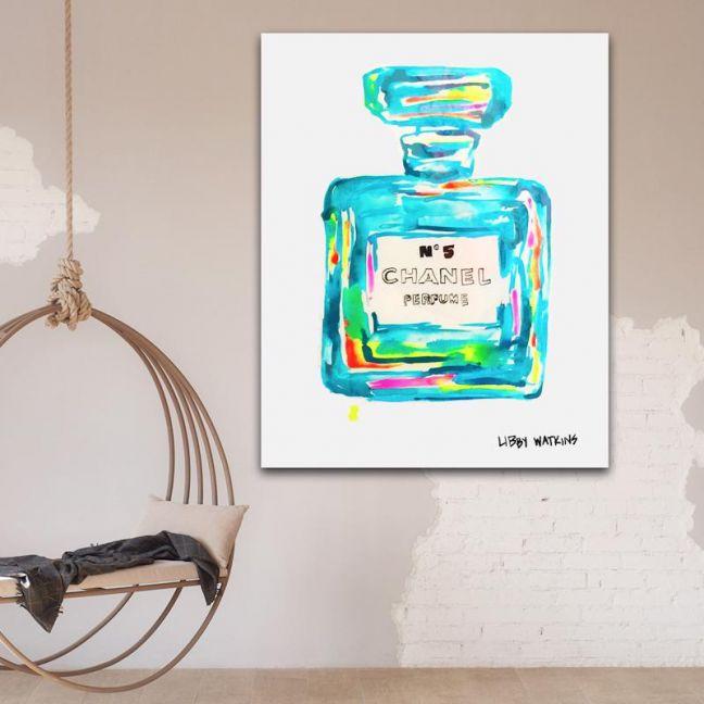 Chanel Ink | Palm Rainbow by Libby Watkins