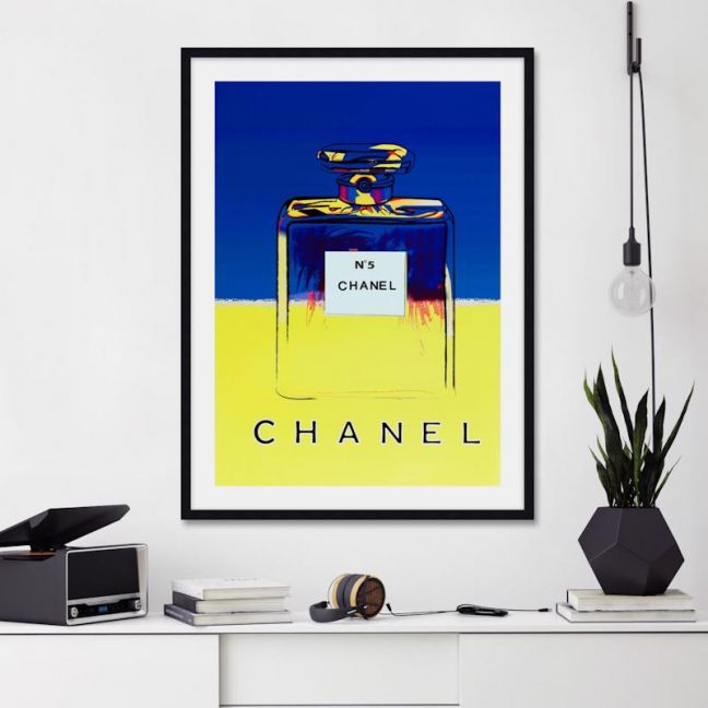 Chanel No.5 by Andy Warhol   Unframed Art Print