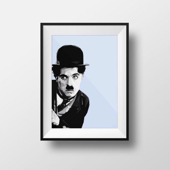 Charlie | Art Print | Framed and Unframed