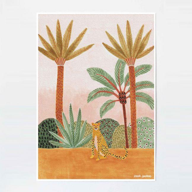 Chey the Cheetah | Unframed Fine Art Print by Karina Jambrak