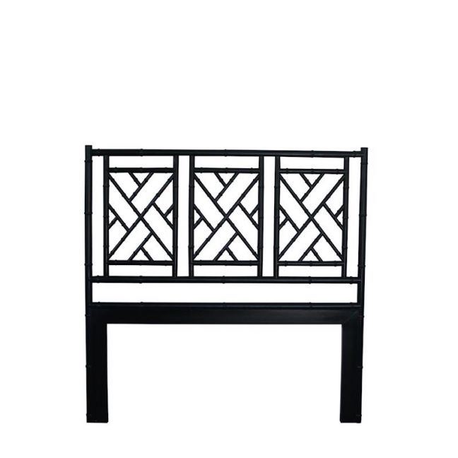 Chippendale Bedhead | Queen Size | Black