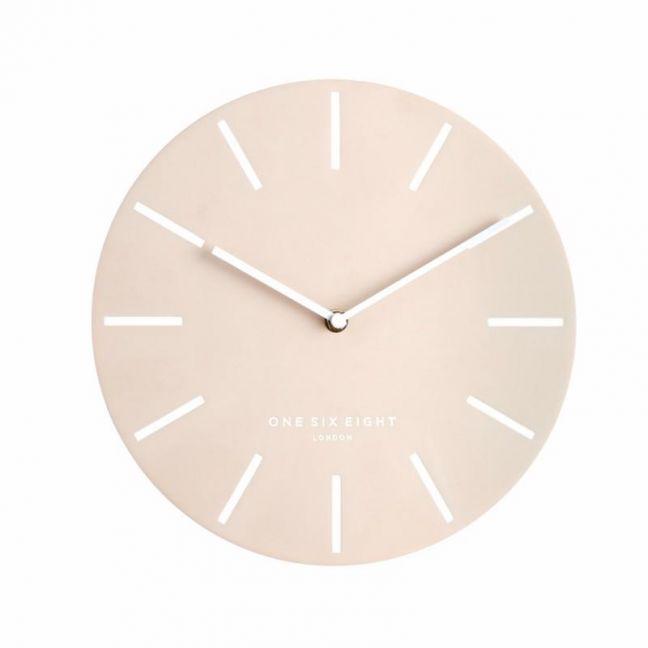 Chloe Silent Wall Clock | 30cm | Blush