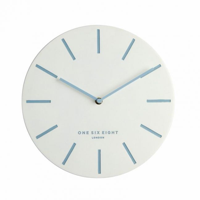 Chloe Silent Wall Clock   30cm   White
