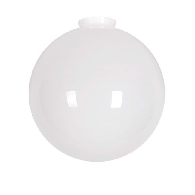 Chrysler Large Round Shade in Opal | by Beacon Lighting