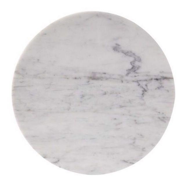 Circle Trivet in Carrara Marble | Behr & Co