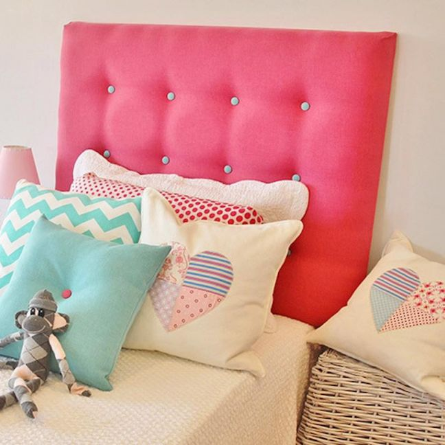 Clancy Kids Upholstered Bedhead | Various Colours & Sizes | Custom Made by Bedsahead
