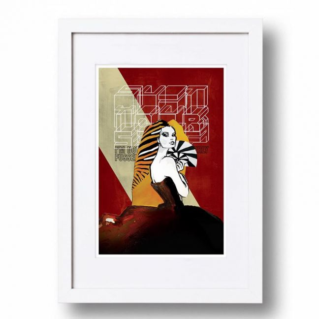 Classic Suit Yourself Poster   Signed, Artist's print by Sarah Carter-Jenkins