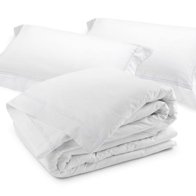Classique Duvet Cover Set - White