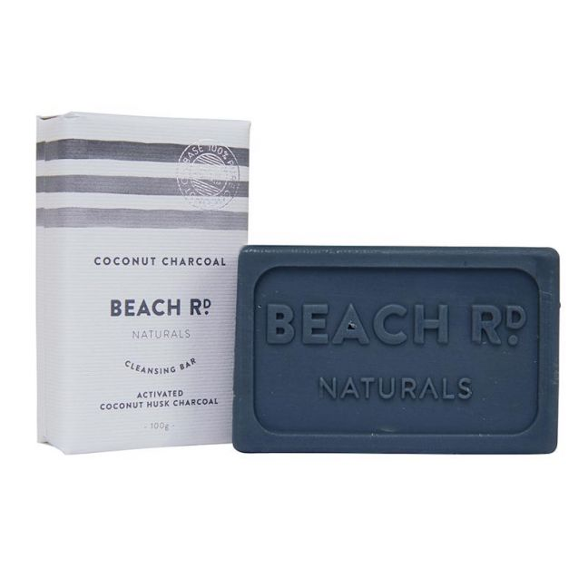 Cleansing Bar | Coconut Charcoal Bar | 100g | by Beach Road Naturals