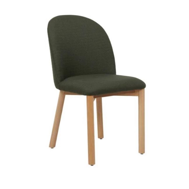 Cohen Dining Chair    Military Green   Pre Order
