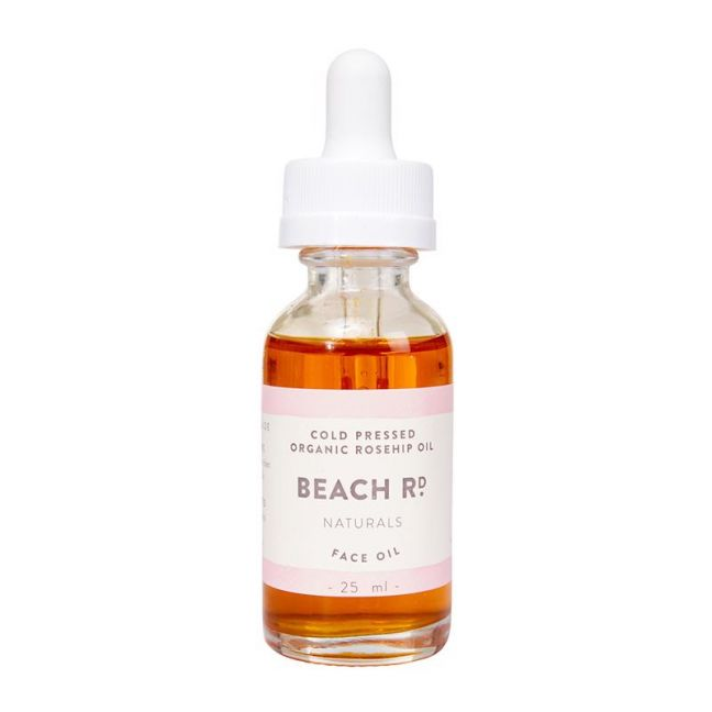 Cold Pressed Organic Rosehip Oil | 25ml | by Beach Road Naturals