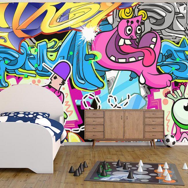Comic Art Full Wall Mural