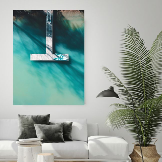 Como | Canvas Wall Art by Hoxton Art House