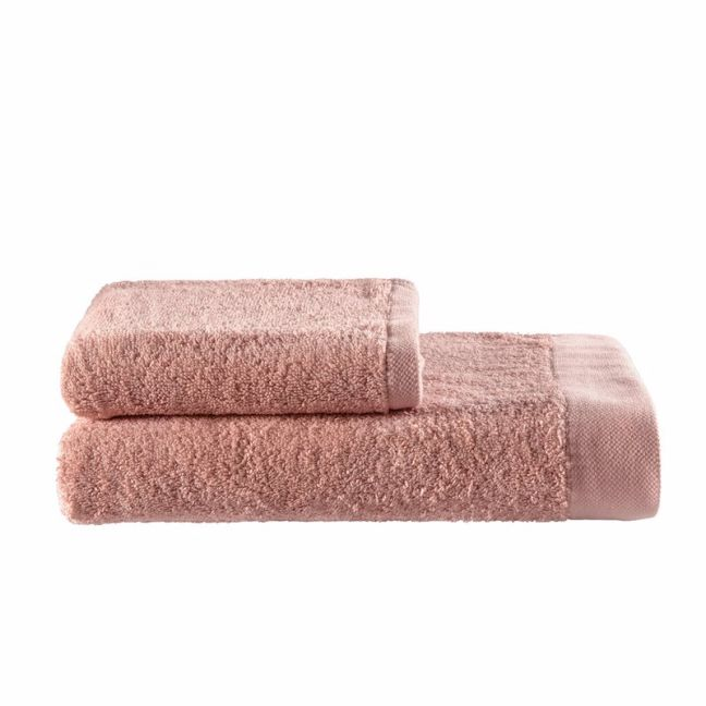 Como Cotton Towels by KAS Australia | Blush
