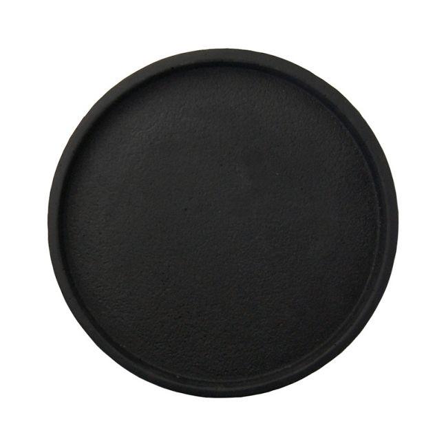 Concrete Round Tray   Black, Grey or White   By Zakkia
