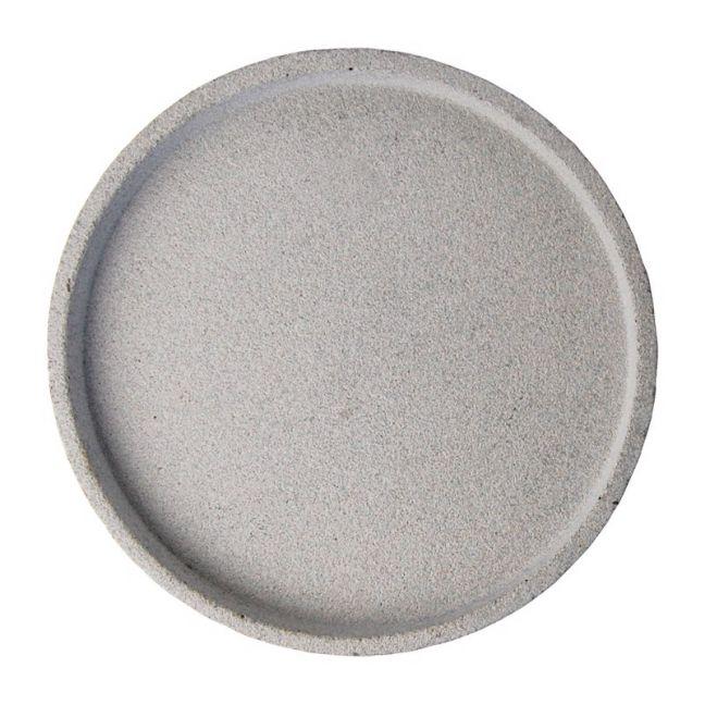 Concrete Round Tray | Large