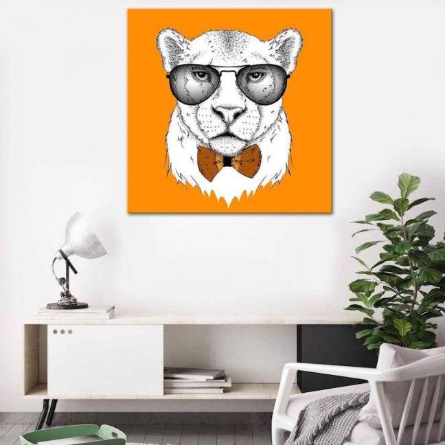 Cool Cat | Canvas Print