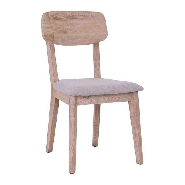 Corbin Dining Chair Solid Wood   Havana Sandblast