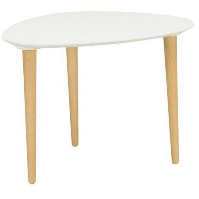 Corey Side Table | White