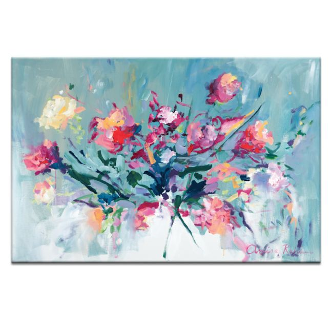 Courage to Bloom   Amira Rahim   Canvas or Print by Artist Lane