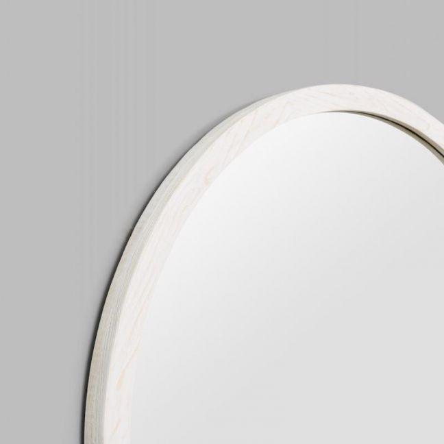 Cove Round Mirror | Black or White
