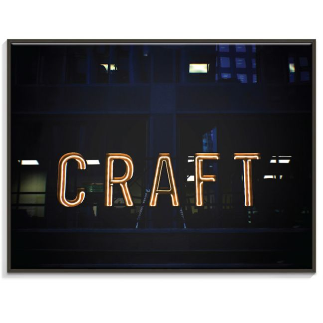 Craft   Canvas or Print by Artist Lane