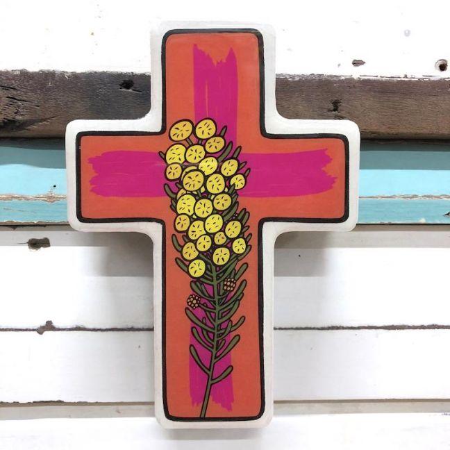 Cross | Large Wattle Pop