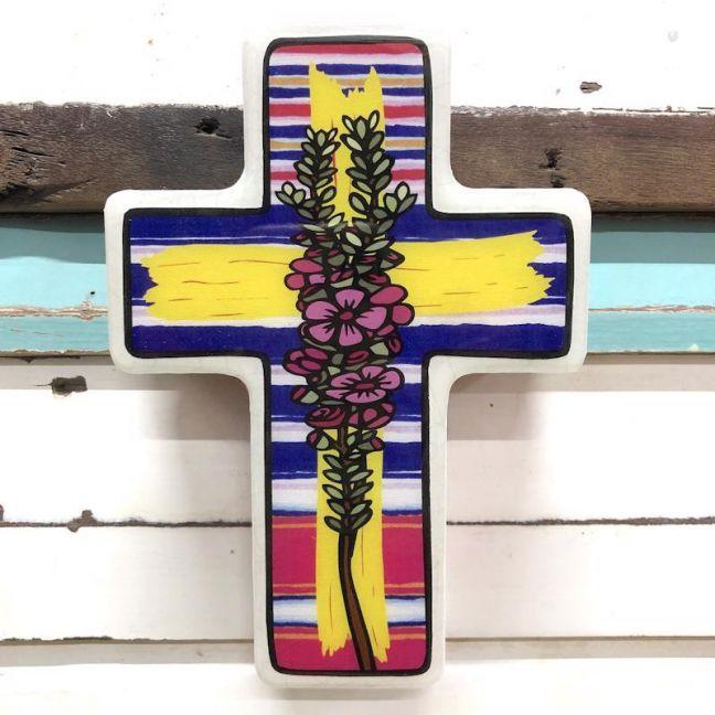 Cross | Small Geraldton Wax Mex