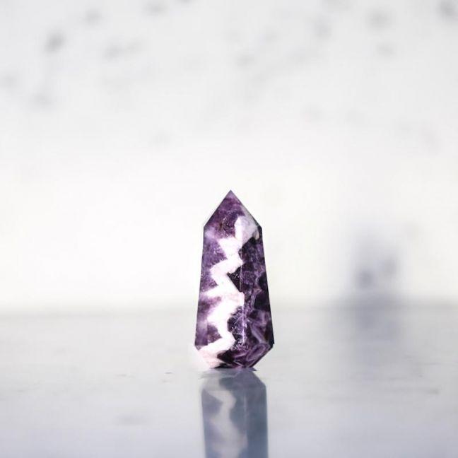 Crystal Chevronica | Chevron Amethyst