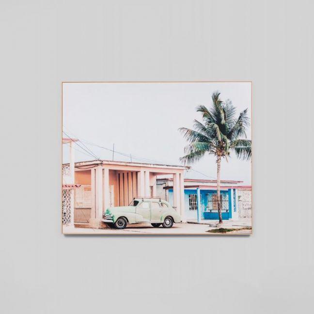 Cuba | Framed Photographic Canvas Print | by Matthew Thomas